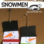 SNOWMEN- ACCORDION FOLD
