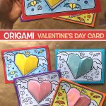 ORIGAMI VALENTINE'S DAY CARD