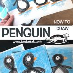 PENGUIN - HOW TO DRAW