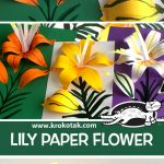 LILY PAPER FLOWER