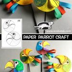 PAPER  PARROT CRAFT