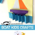BOAT KIDS CRAFTS