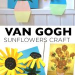 VAN GOGH  SUNFLOWERS CRAFT