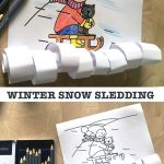WINTER SNOW SLEDDING