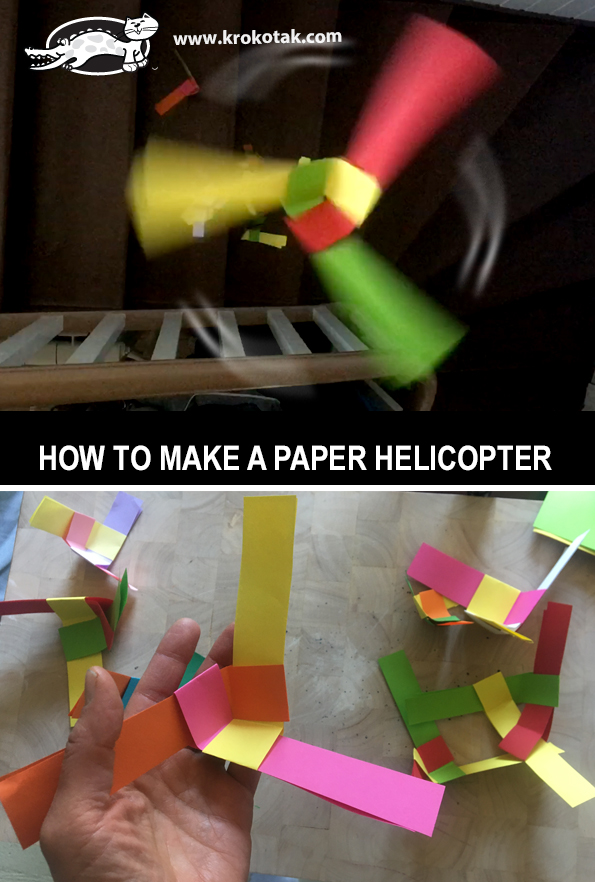 Origami Helicopter - How to make a Paper Helicopter - YouTube | 882x595