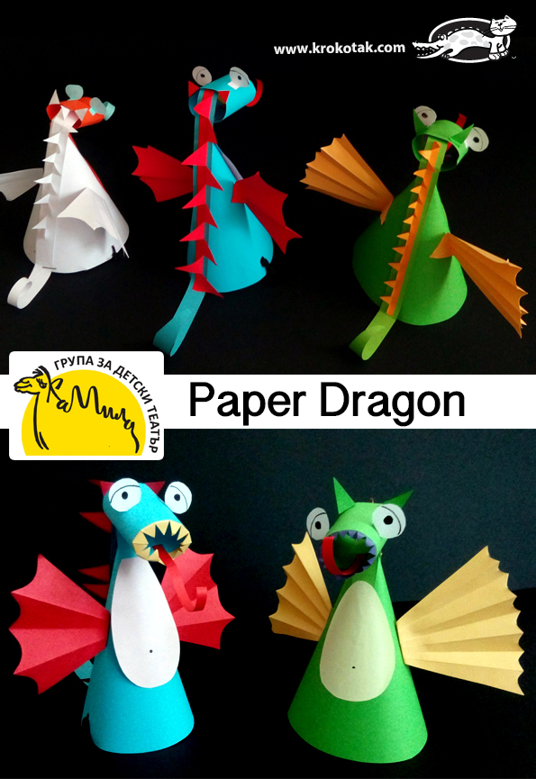 Easy Origami Dragon Tutorial - Step by Step Instructions to Make ... | 865x595