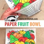 PAPER FRUIT BOWL