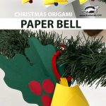CHRISTMAS ORIGAMI  PAPER BELL
