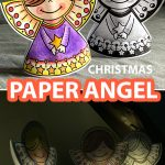CHRISTMAS PAPER ANGEL