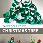 PAPER SCULPTURE: CHRISTMAS TREE